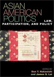 Cover of: Asian American Politics: Law, Participation, and Policy (Spectrum Series)