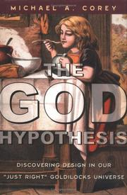 Cover of: The God Hypothesis