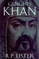 Cover of: Genghis Khan | R. P. Lister