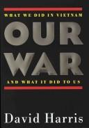 Cover of: Our war
