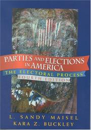 Cover of: Parties and elections in America | Louis Sandy Maisel