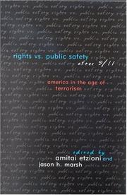 Cover of: Rights vs. Public Safety After 9/11