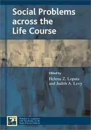 Cover of: Social Problems across the Life Course (Understanding Social Problems)