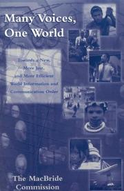 Cover of: Many Voices, One World