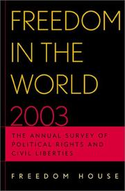 Cover of: Freedom in the World 2003