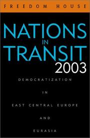 Cover of: Nations in Transit 2003