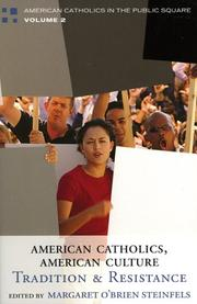 Cover of: American Catholics, American Culture