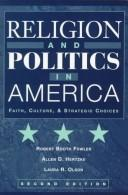 Cover of: Religion and politics in America | Robert Booth Fowler