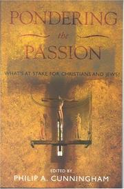 Cover of: Pondering the Passion