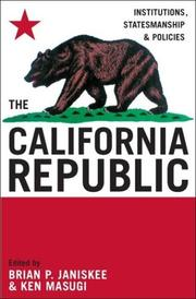 Cover of: The California Republic | Brian P. Janiskee