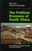 Cover of: The political economy of South Africa