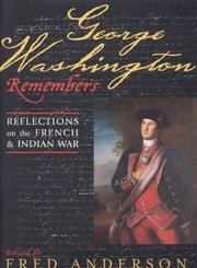 Cover of: George Washington remembers