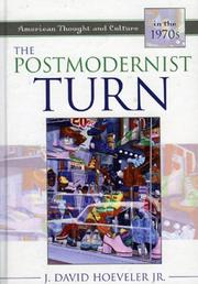 Cover of: The Postmodernist Turn | J. David Hoeveler Jr.