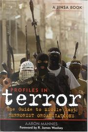 Cover of: Profiles in Terror