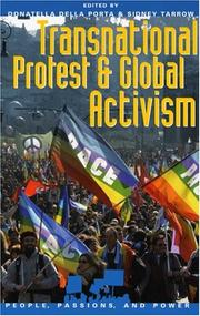 Cover of: Transnational Protest and Global Activism (People, Passions, and Power)