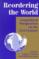 Cover of: Reordering the World |