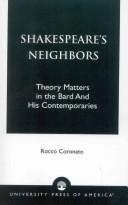 Shakespeare's Neighbors by Rocco Coronato