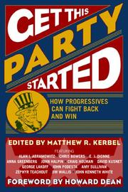 Cover of: Get This Party Started