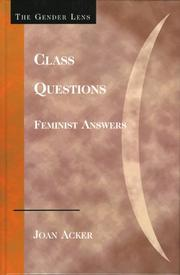 Cover of: Class Questions | Joan Acker