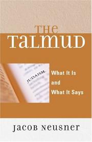 The Talmud by Jacob Neusner