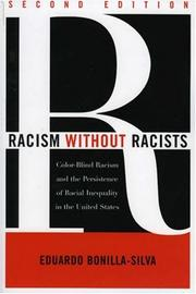 Cover of: Racism without Racists | Eduardo Bonilla-Silva