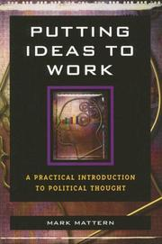 Cover of: Putting Ideas to Work