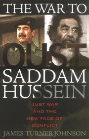 Cover of: The war to oust Saddam Hussein