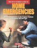 Cover of: do-it-yourself guide to home emergencies | Best, Don