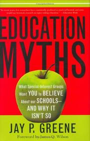 Cover of: Education myths |