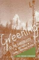 Cover of: Greening at the Grassroots