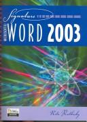 Cover of: Microsoft Word 2003: Specialist & Expert (Benchmark Series (Saint Paul, Minn.).)