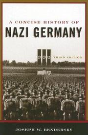 Cover of: A Concise History of Nazi Germany
