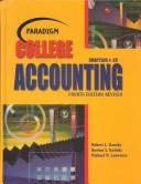 Cover of: Paradigm College Accounting | Robert L. Dansby