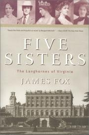 Cover of: Five Sisters: the Langhornes of Virginia