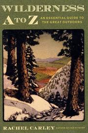 Cover of: Wilderness A to Z