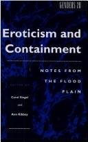Cover of: Eroticism and Containment |