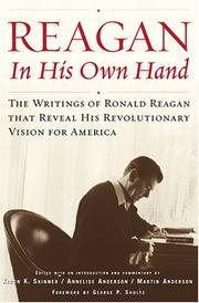 Cover of: Reagan, in his own hand | Ronald Reagan