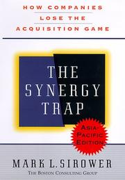 Cover of: The Synergy Trap, Asia-Pacific Edition