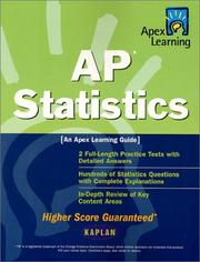 Cover of: Apex AP Statistics (Apex Learning) | Apex Learning