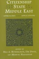 Cover of: Citizenship and the state in the Middle East |