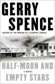 Cover of: Half-moon and empty stars | Gerry Spence