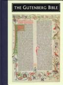 Cover of: The Gutenberg Bible (Illuminated Gift)
