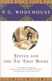 Cover of: Jeeves and the Tie That Binds: A Novel (Rep)