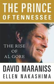 Cover of: The prince of Tennessee | David Maraniss
