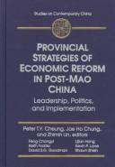 Cover of: Provincial Strategies of Economic Reform in Post-Mao China |