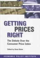 Cover of: Getting prices right