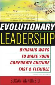 Cover of: Evolutionary Leadership