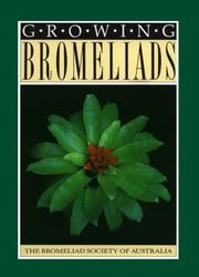 Cover of: Growing Bromeliads