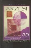Cover of: 20th Anniversary Conference on Advanced Research in Vlsi (Arvlsi
