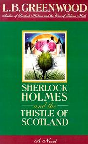 Cover of: Sherlock Holmes and the Thistle of Scotland